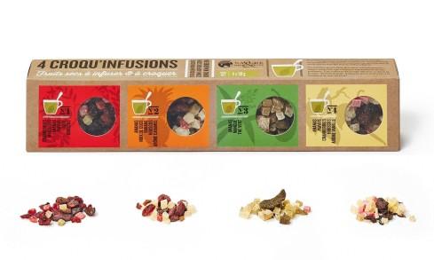 4 croqu'infusions
